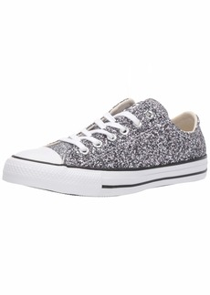 Converse Women's Chuck Taylor All Star Chunky Glitter Low Top Sneaker   M US