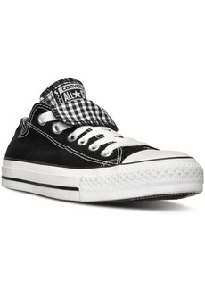 Converse Women's Chuck Taylor All Star Double Tongue Plaid Casual Sneakers from Finish Line