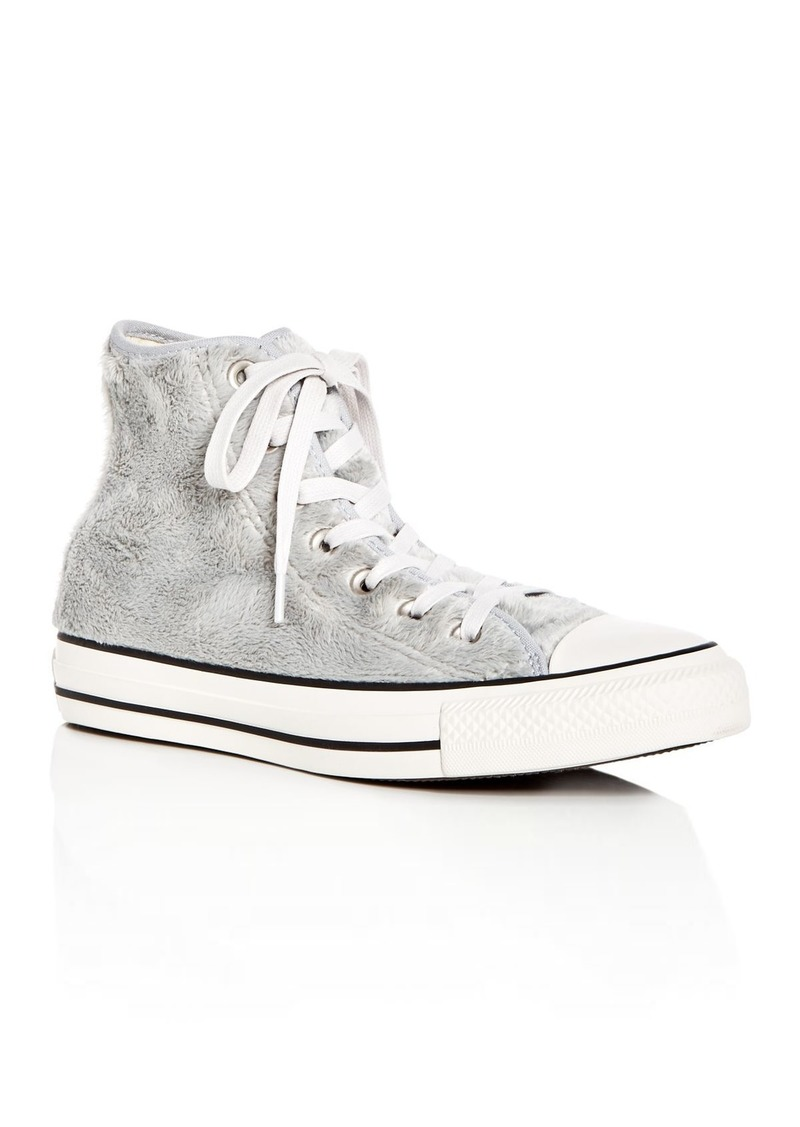 f2add0fc28 Converse Converse Women's Chuck Taylor All Star Faux-Fur High Top ...