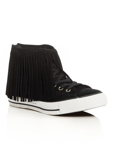 Converse Women's Chuck Taylor All Star Fringe High Top Sneakers