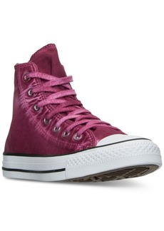 Converse Women's Chuck Taylor All Star Hi Washed Canvas Casual Sneakers from Finish Line
