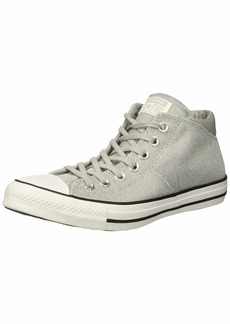Converse Women's Chuck Taylor All Star Knit Madison Mid Sneaker White/Wolf Grey  M US