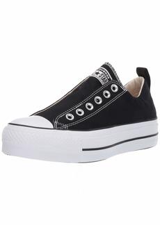Converse Women's Chuck Taylor All Star Lift Slip Sneaker White/Black  M US