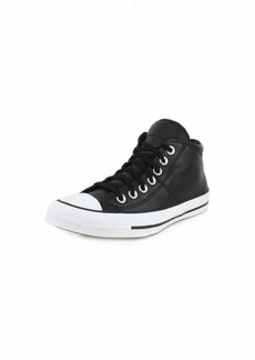 Converse Women's Chuck Taylor All Star Madison Leather Mid Top Sneaker   M US