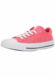 Converse Women's Chuck Taylor All Star Madison Low Top Sneaker Strawberry jam White  M US