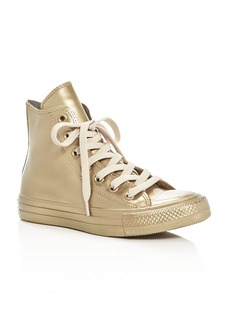 Converse Women's Chuck Taylor All Star Metallic Rubber High Top Sneakers
