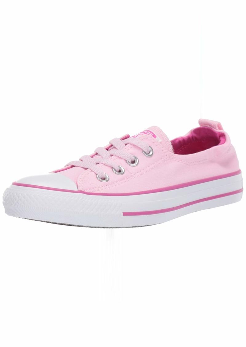 Converse Women's Chuck Taylor All Star Shoreline Linen Slip On Sneaker   M US