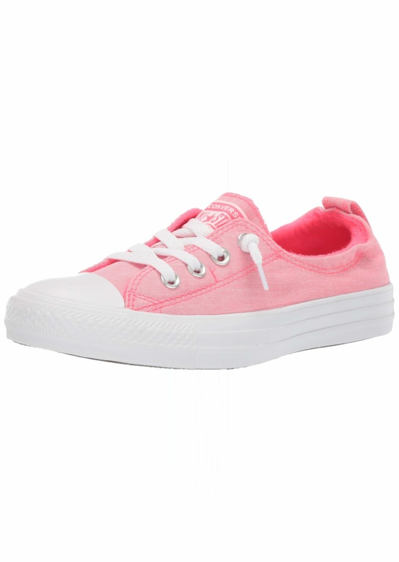 1f6c793649236 Women's Chuck Taylor All Star Shoreline Slip On Sneaker Racer Pink White M  US