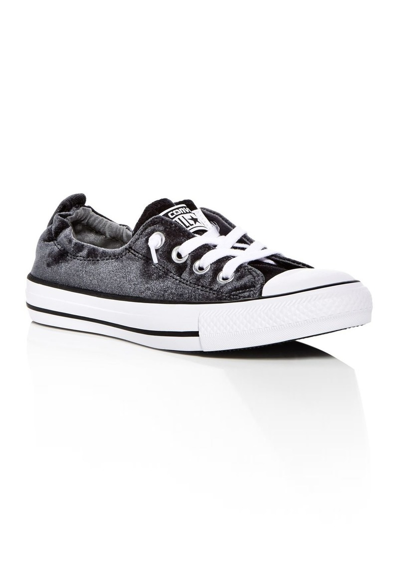 Converse Women s Chuck Taylor All Star Shoreline Velvet Slip-On Sneakers 99d62a0e4