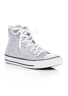 Converse Women's Chuck Taylor All Star Sparkle Knit High Top Sneakers