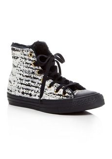 Converse Women's Chuck Taylor All Star Winter Knit High Top Sneakers