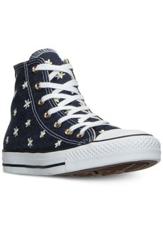 Converse Women's Chuck Taylor Hi Daisy Print Casual Sneakers from Finish Line