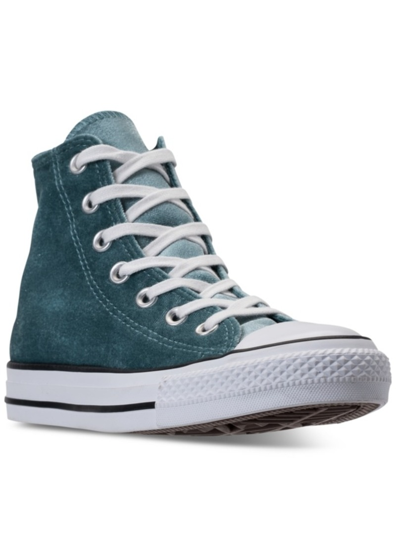 Women S Chuck Taylor Hi Velvet Casual Sneakers From Finish