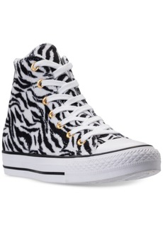 Converse Women's Chuck Taylor High-Top Animal Print Casual Sneakers from Finish Line