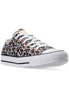 Converse Women's Chuck Taylor Ox Animal Casual Sneakers from Finish Line