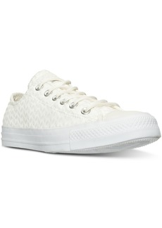 Converse Women's Chuck Taylor Ox Craft Leather Casual Sneakers from Finish Line