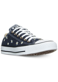Converse Women's Chuck Taylor Ox Daisy Print Casual Sneakers from Finish Line