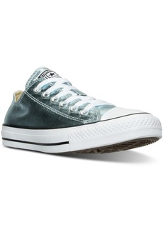 Converse Women's Chuck Taylor Ox Metallic Leather Casual Sneakers from Finish Line