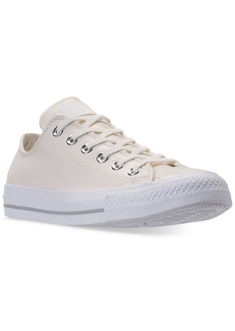 Converse Women's Chuck Taylor Ox Patent Casual Sneakers from Finish Line