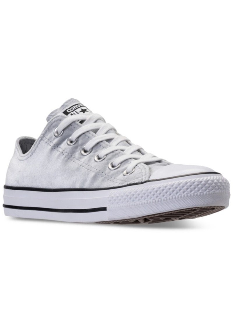 a337552315c84d Converse Women s Chuck Taylor Ox Velvet Casual Sneakers from Finish Line