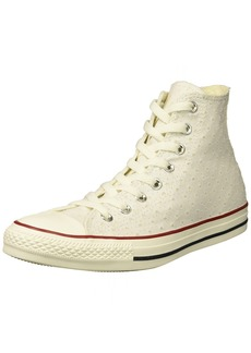 Converse Women's Chuck Taylor Perforated Stars High Top Sneaker   M US