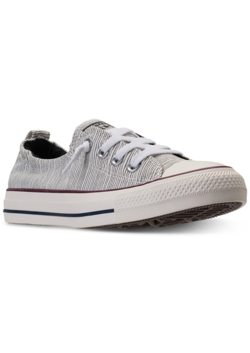 c613f285c6b Converse Women s Chuck Taylor Shoreline Ox Casual Sneakers from Finish Line
