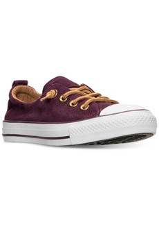 Converse Women's Chuck Taylor Shoreline Perf Suede Casual Sneakers from Finish Line