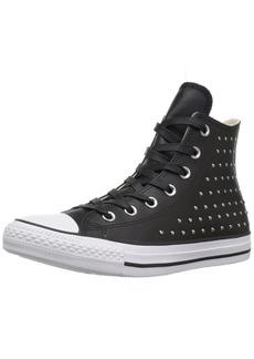 Converse Women's CTAS HI /Silver Sneaker