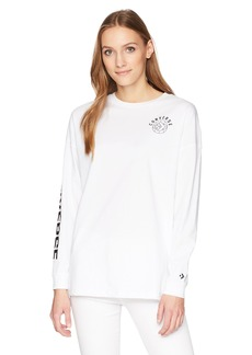 Converse Women's Long Sleeve T-Shirt  S