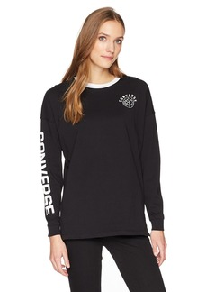 Converse Women's Long Sleeve T-Shirt  XS
