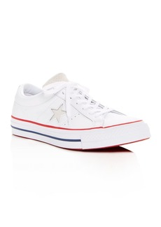 Converse Women's One Star Leather Lace Up Sneakers