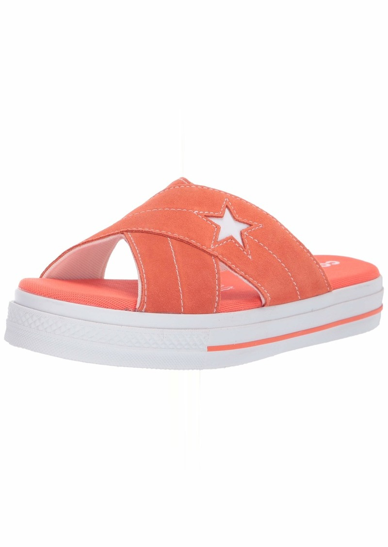 Converse Women's One Star Suede Slip Sandal  9.5 M US