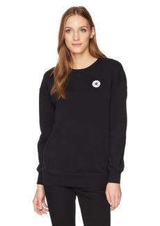 Converse Women's Oversized Crew Sweatshirt  XS