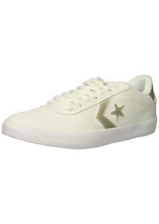 Converse Women's Point Star Low TOP Sneaker White/Gold  M US