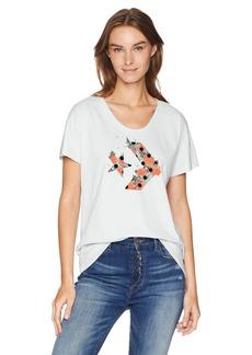 Converse Women's Star Chevron Polka Dot Short Sleeve T-Shirt  XL