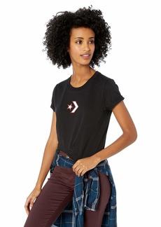 Converse Women's Star Chevron Short Sleeve Crew T-Shirt  S