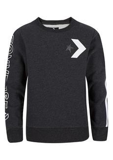 Converse Wordmark Sweatshirt (Big Boys)