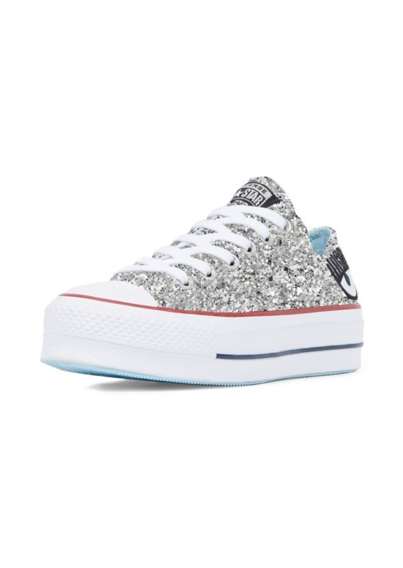 Converse x Chiara Ferragni All Star Low Top Glitter Sneakers