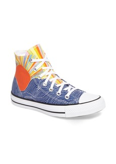 Converse x Mara Hoffman All Star® Embroidered High Top Sneaker (Women)
