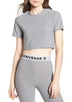 Converse x Miley Cyrus Glitter Crop Tee