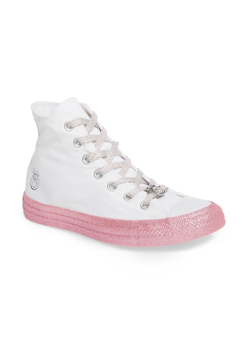 Converse Converse x Miley Cyrus Chuck Taylor All Star Glitter High Top Sneaker (Women) | Shoes
