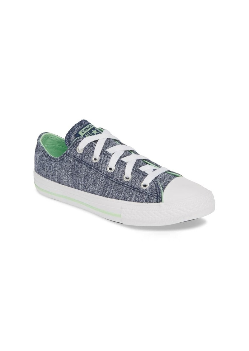 Converse CTAS OX NAVY/LT. APHID GREEN/W