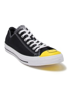 Converse Chuck Taylor All Star Ox Yellow Smiley Face Toe Low Top Sneaker (Unisex)