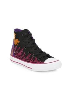 Disney's Frozen 2 x Converse Girl's Anna Chuck Taylor High-Top Sneakers