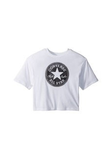 Converse Feather Chuck Patch Print Fill Tee (Big Kids)