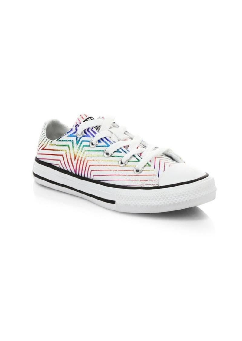 Converse Girl's Chuck Taylor All Star All Of The Stars Sneakers