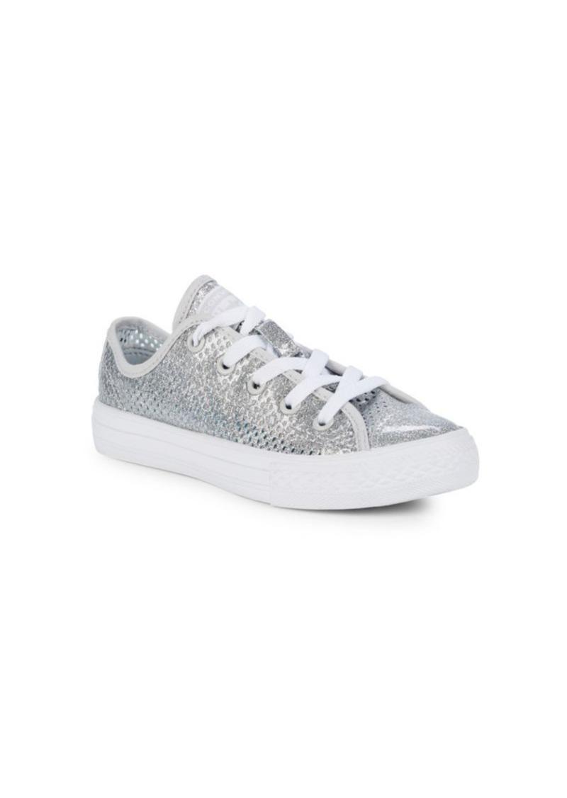 Converse Girl's Chuck Taylor All Star Metallic Sneakers