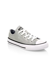 Converse Girl's Chuck Taylor All Star Ox Glitter Sneakers