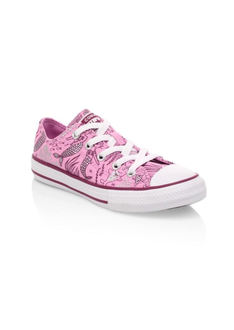 Converse Girl's Chuck Taylor All Star Ox Printed Sneakers