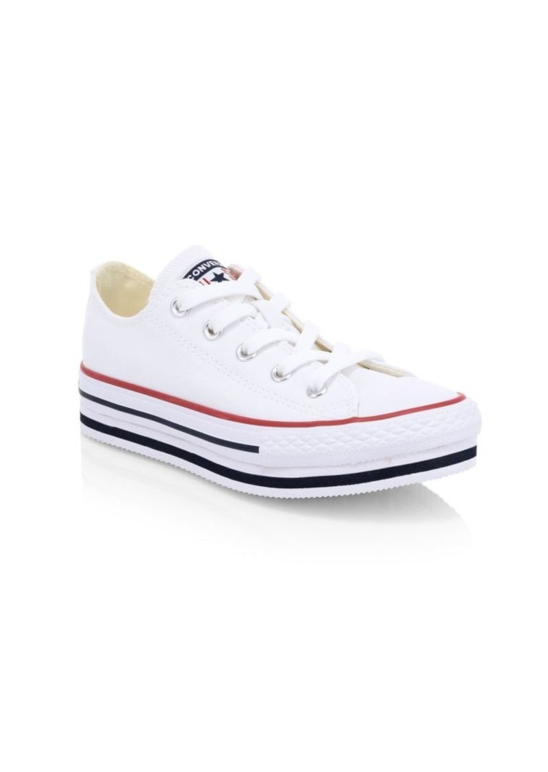 Converse Girl's Chuck Taylor OX All Star Classic Sneakers